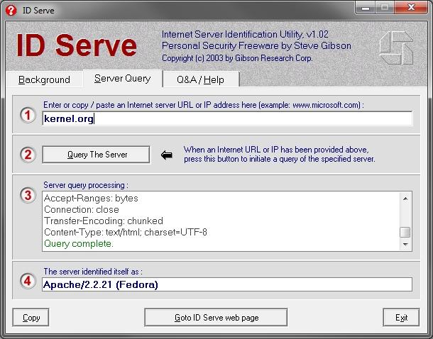 ID Serve