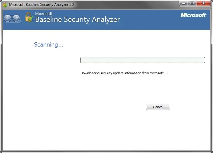 MBSA downloading updates