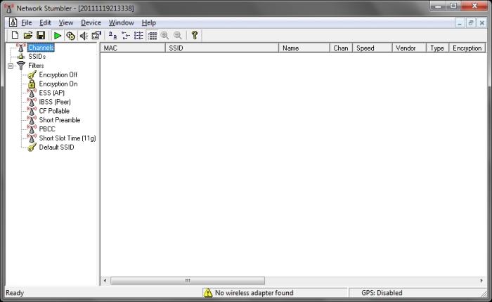 Download Network Stumbler Build