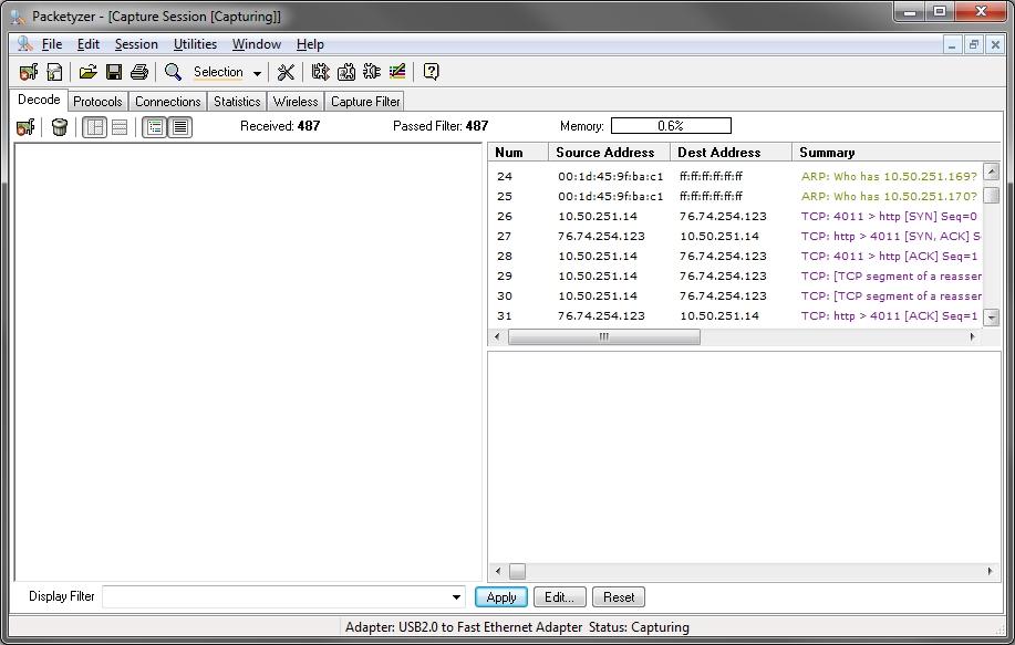 packetyzer 5.0