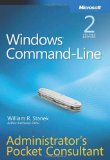 Windows Command Line Admin's Pocket Consultant on Amazon