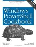 Windows PowerShell Cookbook on Amazon