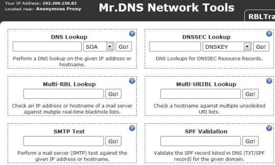 mrdns screenshot
