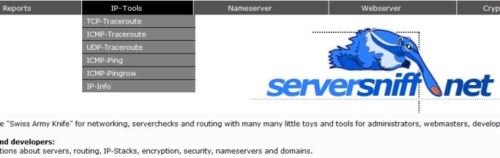 serversniff screenshot