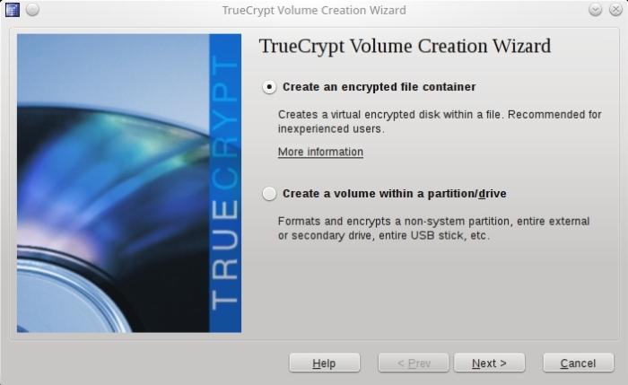Truecrypt Volume Creation Wizard