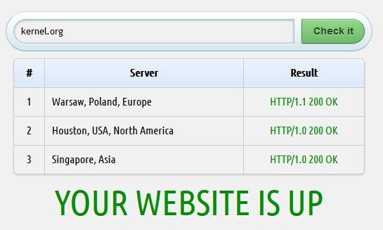website-down screenshot