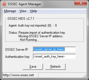 OSSEC Windows Agent Manager