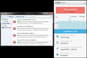 Linux downloads with VyprVPN