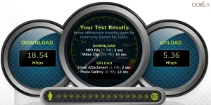 Bandwidth speed test 1