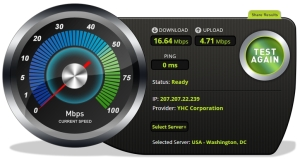 Bandwidth speed test 2 with Vypr