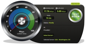 Bandwidth speed test 2