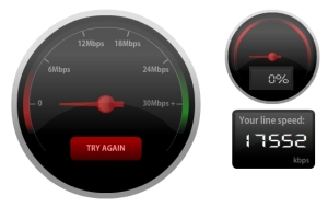Bandwidth speed test 3
