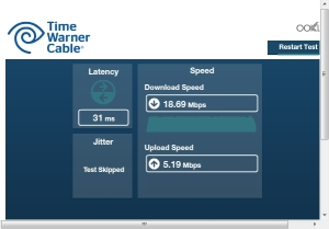 Bandwidth speed test 4